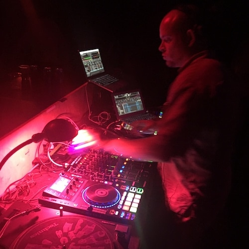 MrVanDigital DJ Vancouver at Open Studios